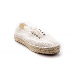 Zeppe Corda  Natural World color Bianco  Zeppa Corda Donna Natural World online - prezzo:   27.50 €