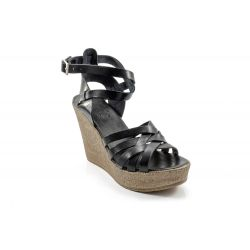 Zeppe Corda  Gaia Shoes color Nero  Zeppa Corda Donna Gaia Shoes online - prezzo:   34.90 €