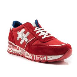 Sneakers Basse  Divine Follie color Rosso  Sneaker Bassa Donna Divine Follie online - prezzo:   39.90 €