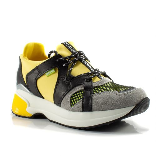 buy popular fd67a 9f2da ▷ Sneaker Bassa Donna Replay RS1B0001S tessuto giallo ...