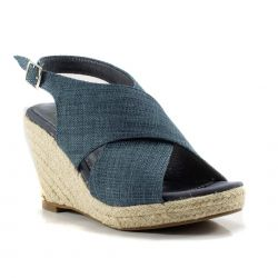 Zeppe  Refresh color Blu  Zeppa Donna Refresh online - prezzo:   31.43 €