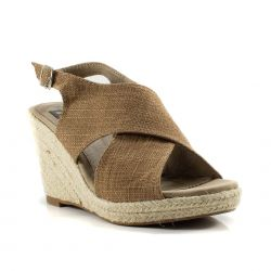 Zeppe  Refresh color Taupe  Zeppa Donna Refresh online - prezzo:   31.43 €