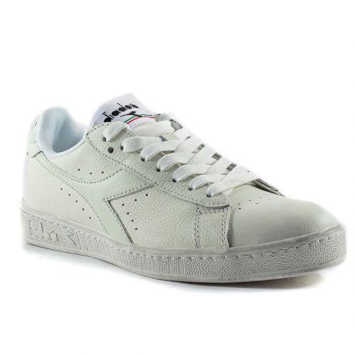 04906f5a09daa ▷ Sneaker Bassa Donna Diadora GAME-L-LOW-WAXED pelle bianco online ...