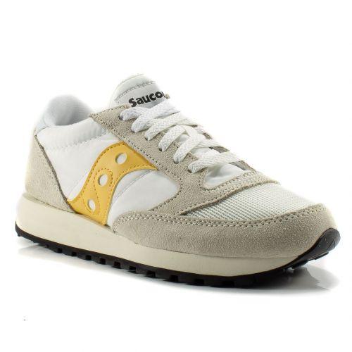 b0753d56925d4 Sneakers Saucony color Bianco-Giallo Sneaker Bassa Donna Saucony online -  prezzo  109.90 €