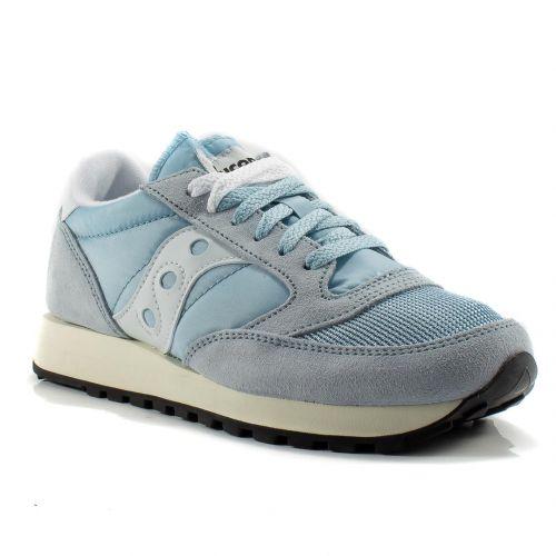 2d09edcf7102f Sneakers Saucony color Azzurro-Bianco Sneaker Bassa Donna Saucony online -  prezzo  109.90 €