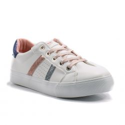 Sneakers  Refresh color Bianco-Rosa  Sneaker Bassa Donna Refresh online - prezzo:   31.92 €