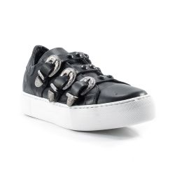 Sneakers Basse  Divine Follie color Nero  Sneaker Bassa Donna Divine Follie online - prezzo:   59.90 €