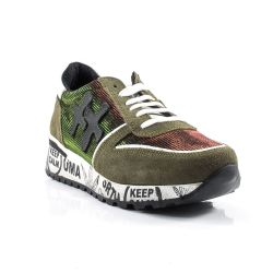 Sneakers Basse  Divine Follie color Verde  Sneaker Bassa Donna Divine Follie online - prezzo:   34.90 €