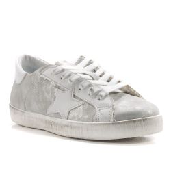 Sneakers  Divine Follie color Argento  Sneaker Bassa Donna Divine Follie online - prezzo:   79.90 €