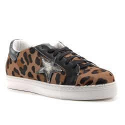 Sneakers  Divine Follie color Leopardo  Sneaker Bassa Donna Divine Follie online - prezzo:   119.90 €