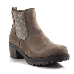 CafeNoir   XTI footwear color Taupe  Tronchetto Tacco Donna XTI footwear online - prezzo:   59.90 €