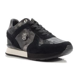 Sneakers  Tommy Hilfiger color Nero  Sneaker Bassa Donna Tommy Hilfiger online - prezzo:   69.90 €