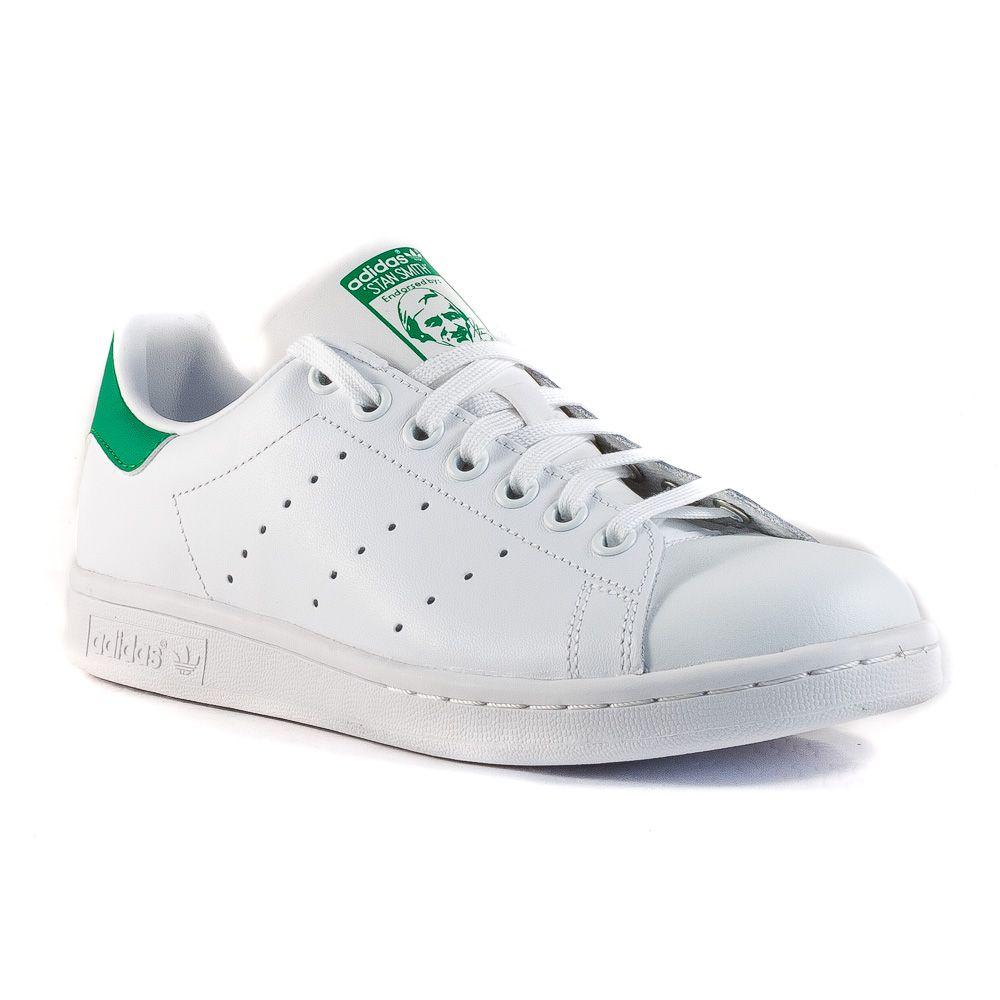 info for 3385e 00f2d Sneaker Bassa Donna Adidas. Adidas Sneakers Bianco-Verde ...