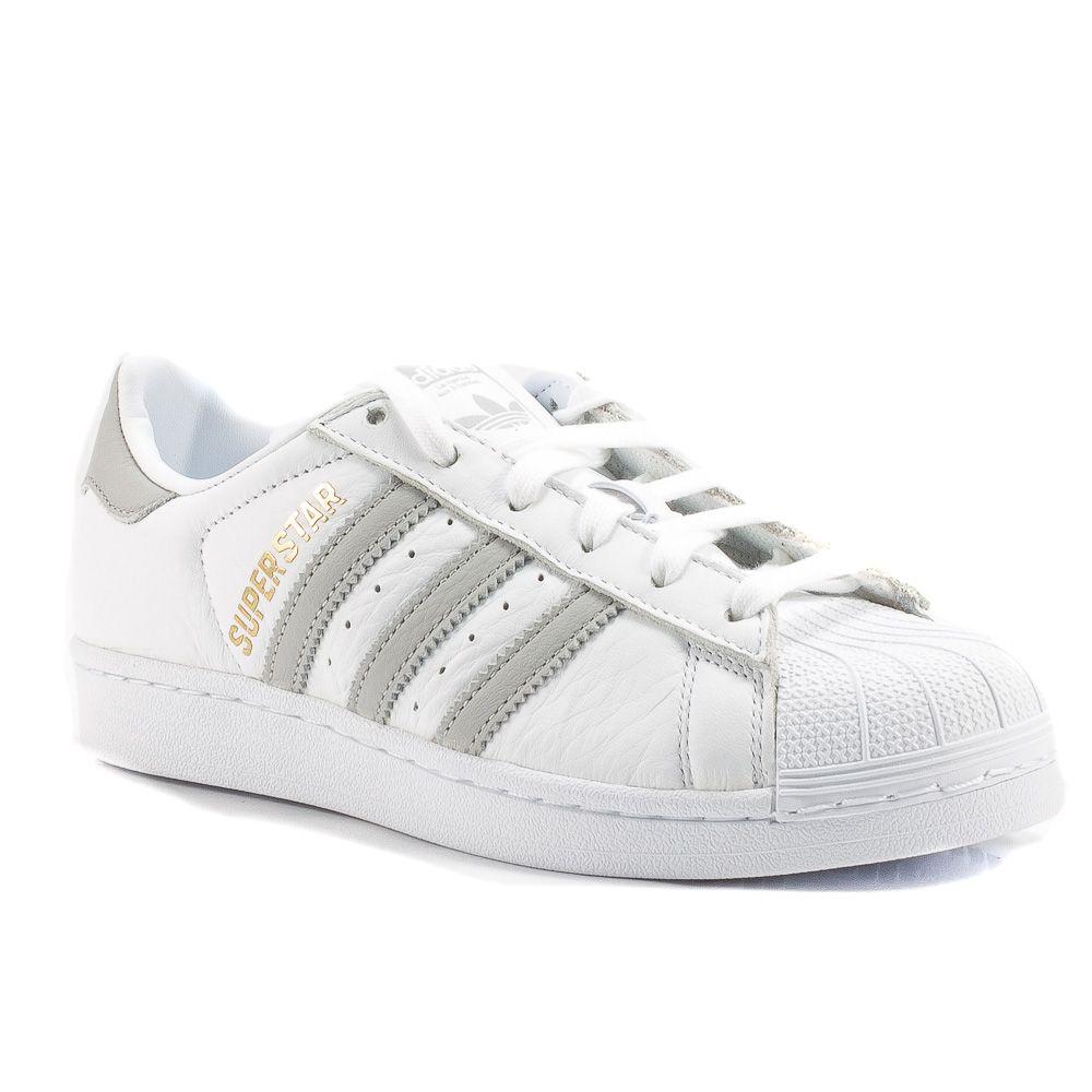 detailed look 596b1 f5ba4 Sneaker Bassa Donna Adidas. Adidas Sneakers Bianco-Grigio ...
