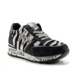 Sneakers  Divine Follie color Zebra  Sneaker Bassa Donna Divine Follie online - prezzo:   49.90 €
