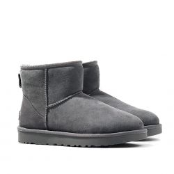 Gaia Shoes  Ugg color Grigio  Stivaletto lana Donna Ugg online - prezzo:   154.70 €