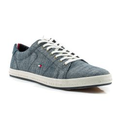 d762c475c1ae6 Sneakers Tommy Hilfiger color Jeans Sneaker Bassa Uomo Tommy Hilfiger online  - prezzo  48.93 €