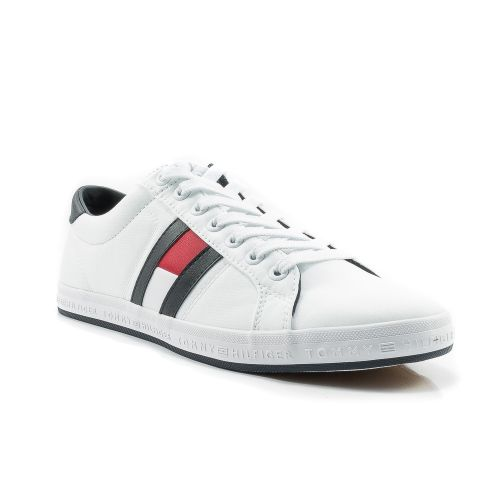 Sneakers  Tommy Hilfiger color Bianco  Sneaker Bassa Uomo Tommy Hilfiger online - prezzo:   69.90 €