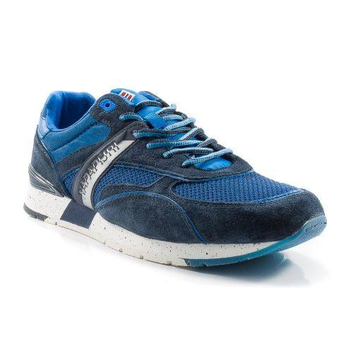 ▷ Sneaker Bassa Uomo Napapijri RABARI tessuto-camoscio blu-bluette ... e5ba3339bde
