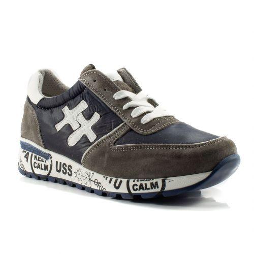 purchase cheap 9ebb3 83b45 ▷ Sneaker Bassa Uomo Divine Follie PRU-PREMIUM tessuto ...