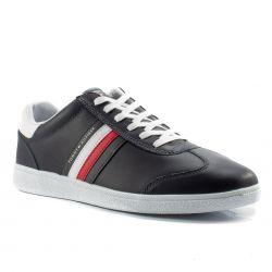 ce29bf881271 Scarpe online pagamento in contrassegno Tommy Hilfiger color Blu Sneaker  Bassa Uomo Tommy Hilfiger online -