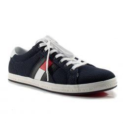 b8de5d6eba98b Scarpe online pagamento in contrassegno Tommy Hilfiger color Blu Sneaker  Bassa Uomo Tommy Hilfiger online -