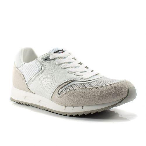 quality design e9464 99f36 Sneakers Blauer color Bianco Sneaker Bassa Uomo Blauer online - prezzo   129.90 €