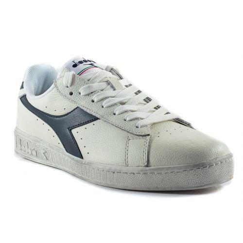 bde0aa80beb15 ▷ Sneaker Bassa Uomo Diadora GAME-L-LOW-WAXED pelle bianco-blu online