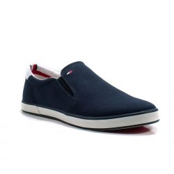 Sneakers  Tommy Hilfiger color Blu  Slip-on Uomo Tommy Hilfiger online - prezzo:   35.94 €
