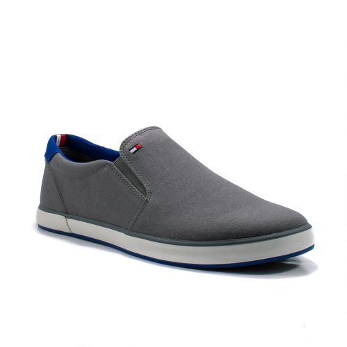 Sneakers  Tommy Hilfiger color Grigio  Slip-on Uomo Tommy Hilfiger online - prezzo:   35.94 €