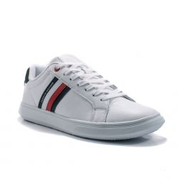 Sneakers  Tommy Hilfiger color Bianco  Sneaker Bassa Uomo Tommy Hilfiger online - prezzo:   99.90 €