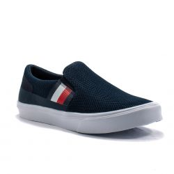 Sneakers  Tommy Hilfiger color Blu  Slip-on Uomo Tommy Hilfiger online - prezzo:   74.90 €