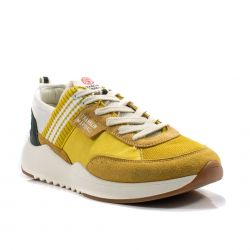 Slip on donna   Franklin Marshall color Giallo-Bianco  Sneaker Bassa Uomo Franklin Marshall online - prezzo:   76.90 €