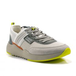 Sneakers  Franklin Marshall color Grigio-Bianco  Sneaker Bassa Uomo Franklin Marshall online - prezzo:   99.90 €