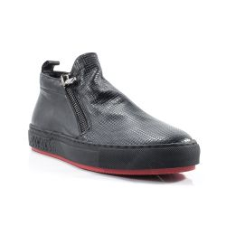 Sneakers  Pawelks color Nero  Slip-on Uomo Pawelks online - prezzo:   129.90 €