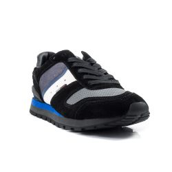 Sneakers Basse  Tommy Hilfiger color Nero-Blu  Sneaker Bassa Uomo Tommy Hilfiger online - prezzo:   54.90 €