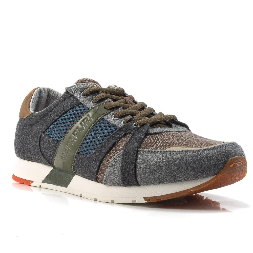 a4bcb7a3ba059 ▷ Sneaker Bassa Uomo Napapijri 17838010-RABARI lana grigio -40 ...