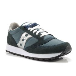 Scarpe Saucony Saucony color Blu-Argento Sneaker Bassa Uomo Saucony online  - prezzo  76.93 0bafbdbeece