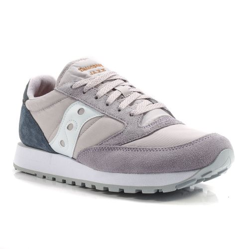 uk availability 7faca d8513 ▷ Sneaker Bassa Uomo Saucony JAZZ-ORIGINAL-2044-451 tessuto-camoscio grigio- blu -30% online   Novità Calzature