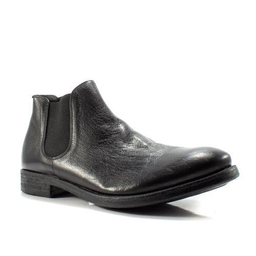 un'altra possibilità bambino calzature ▷ Tronchetto Beatles Uomo Pawelks 17004 pelle nero online ...